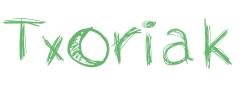 Logotipo Txoriak, casas de pájaro