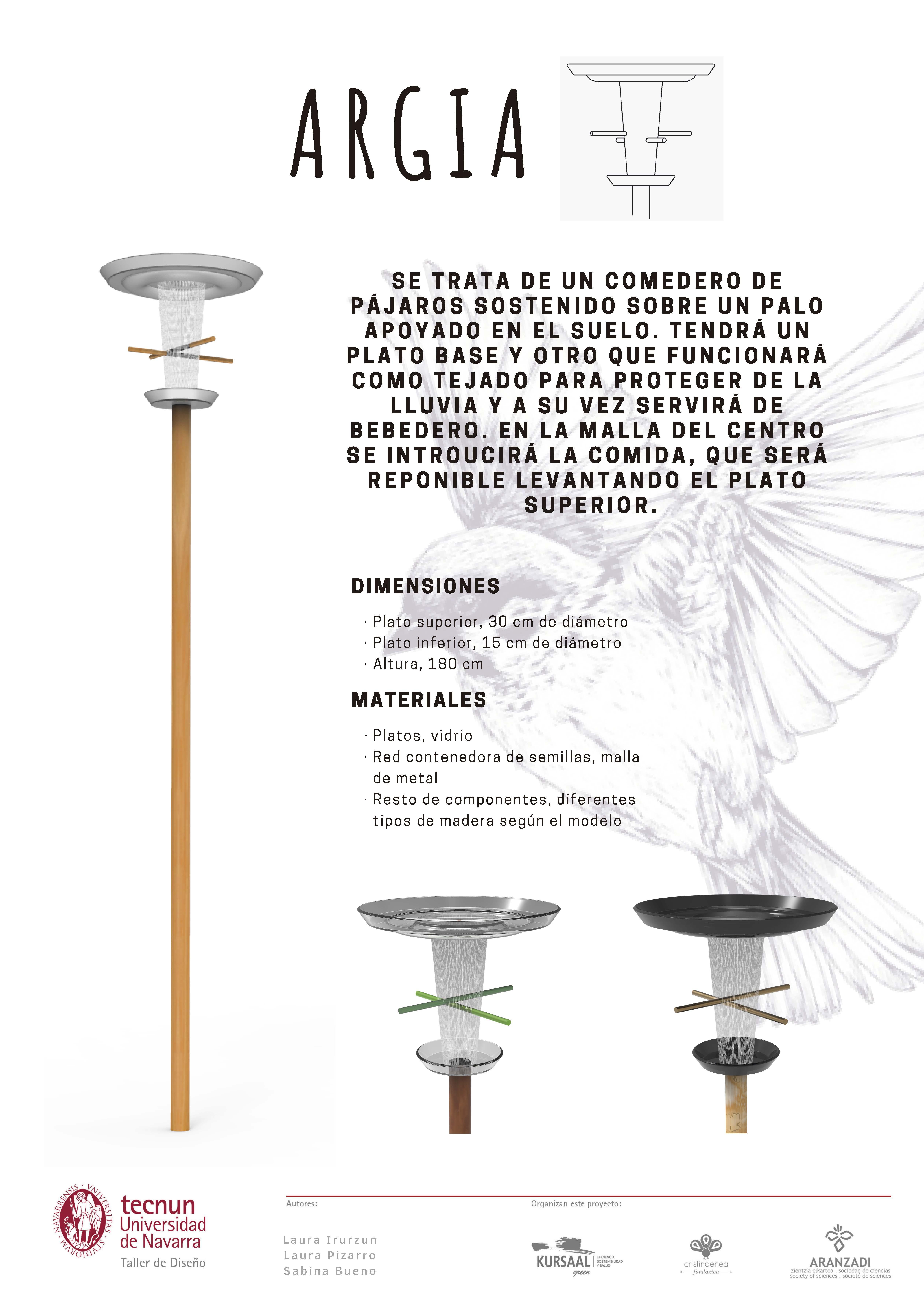 Taller de diseño - Tecnum - Txoriak - ARGIA