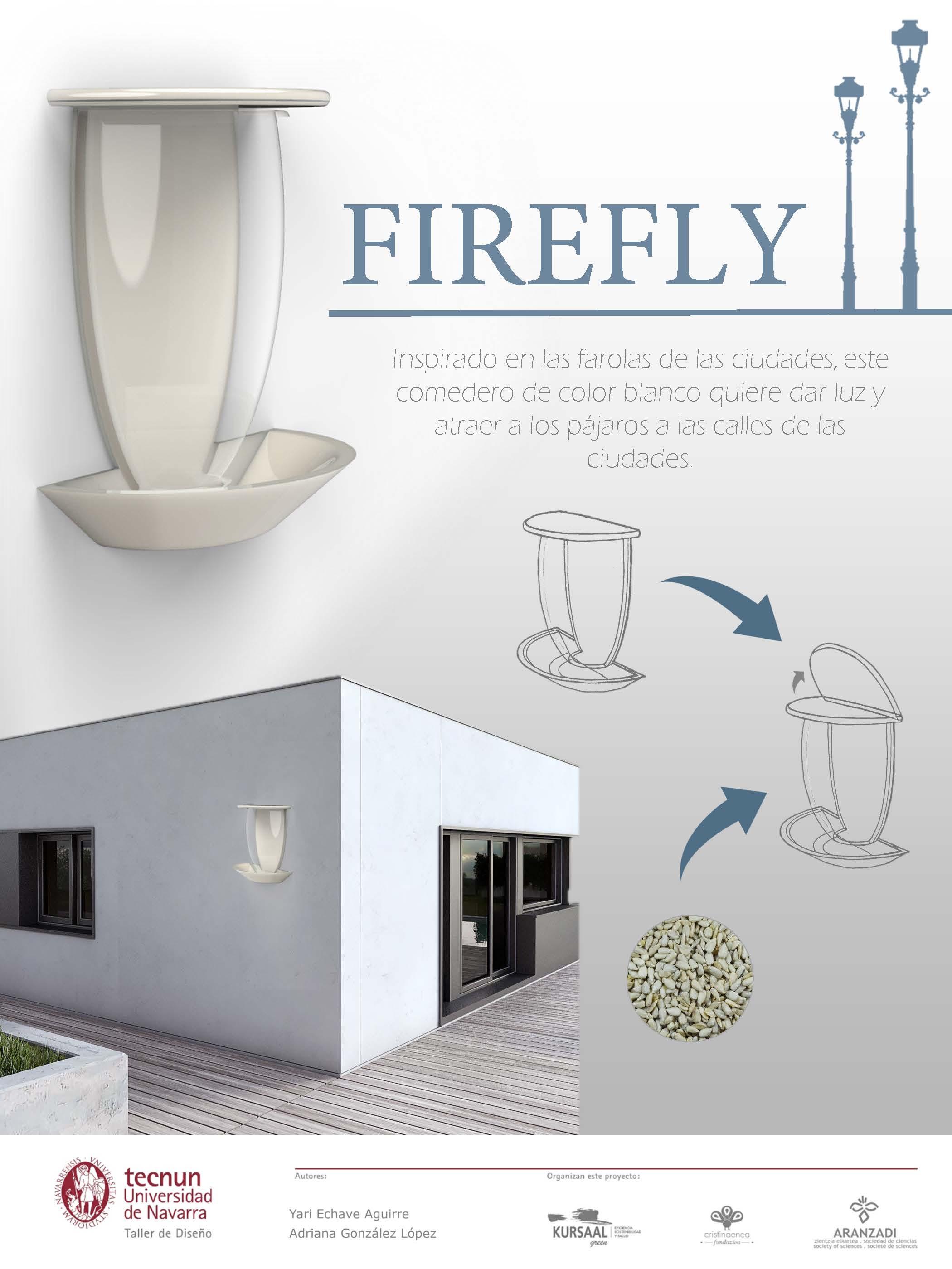 Taller de diseño - Tecnum - Txoriak - FIREFLY