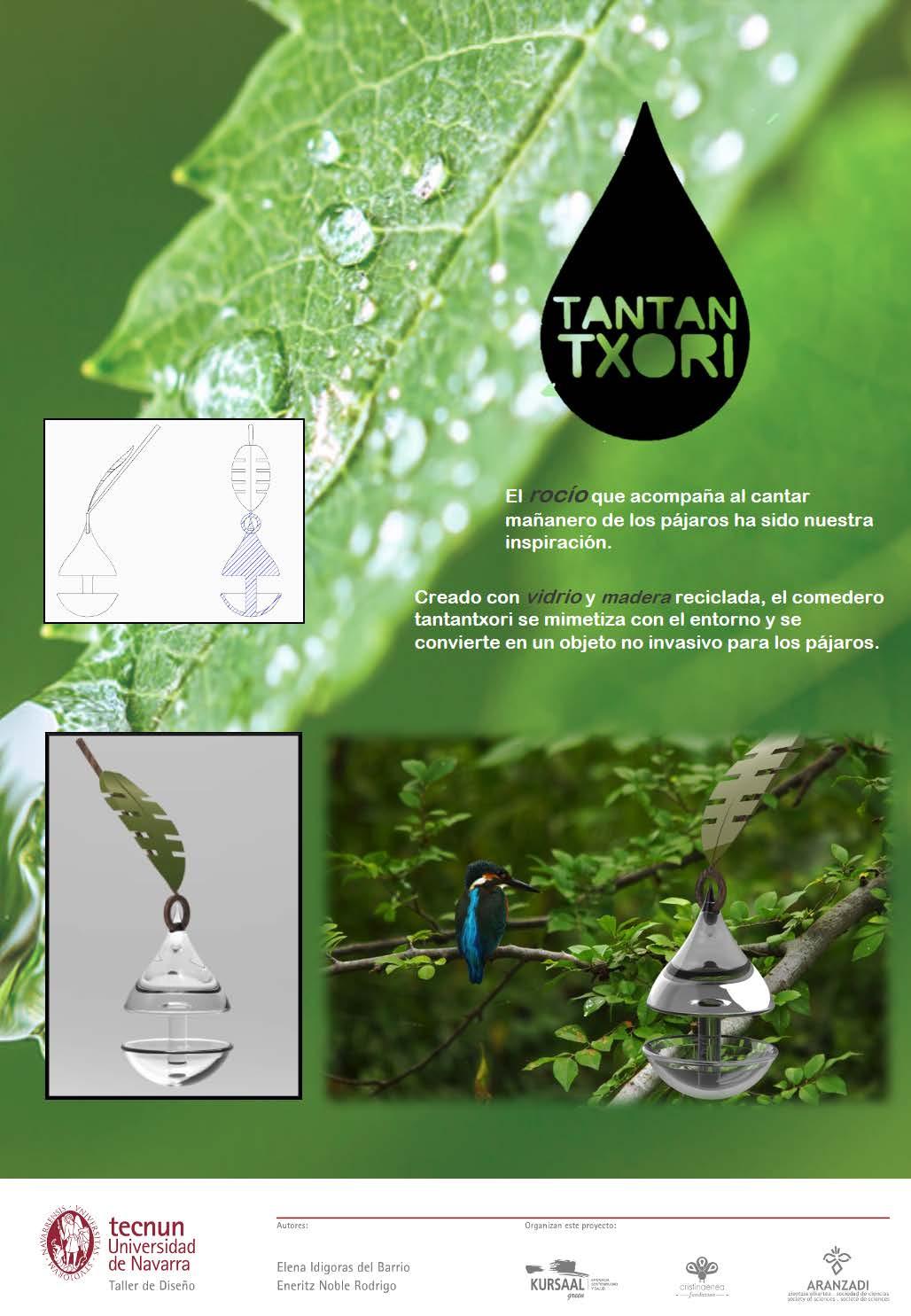 Taller de diseño - Tecnum - Txoriak - TANTANTXORI