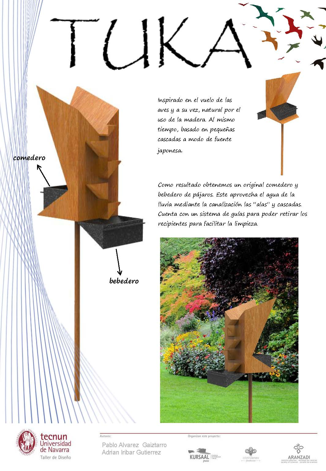 Taller de diseño - Tecnum - Txoriak - TUKA