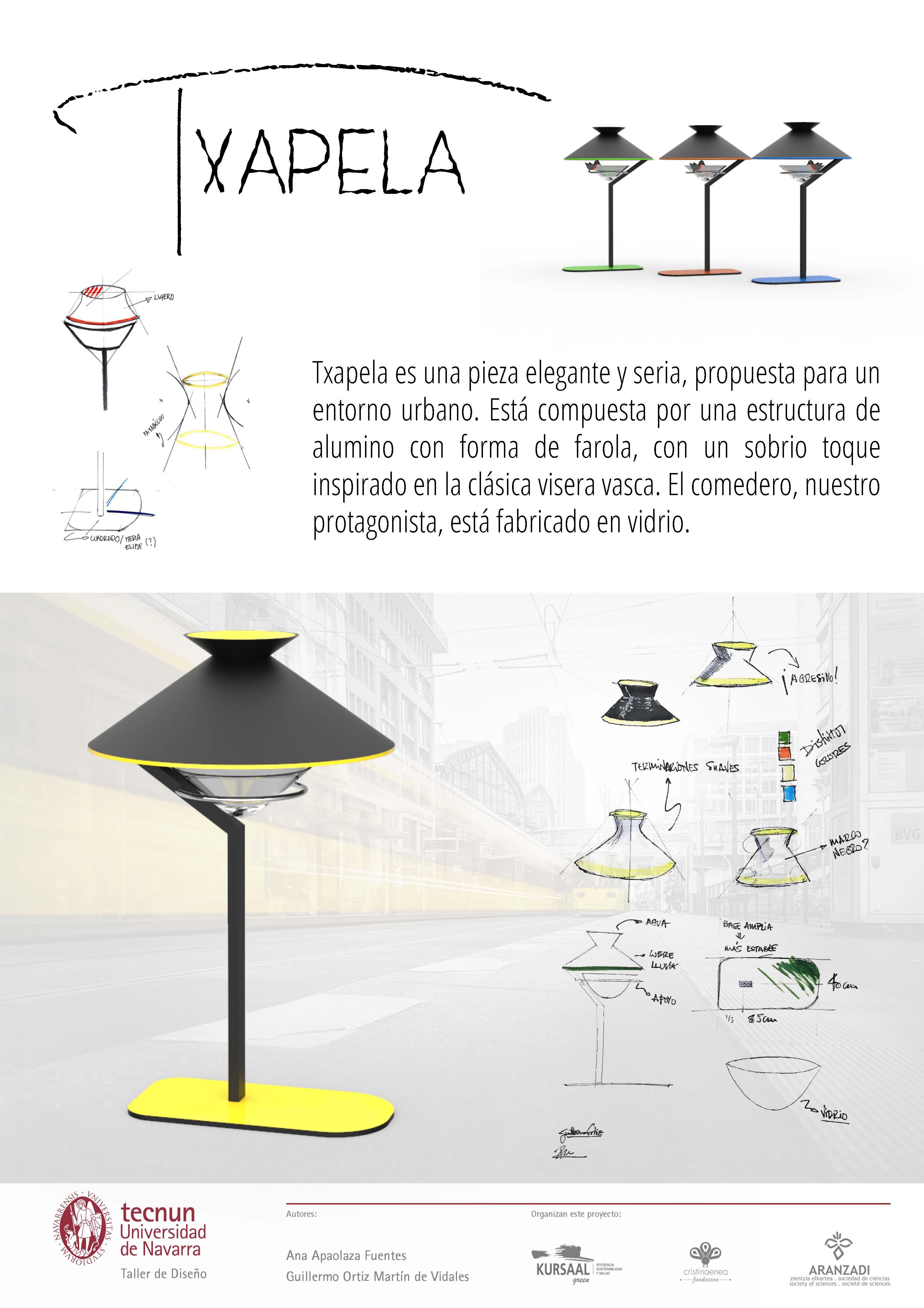 Taller de diseño - Tecnum - Txoriak - TXAPELA