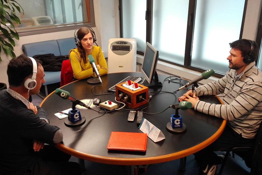 imagen de entrada del blog: Entrevista en Cope