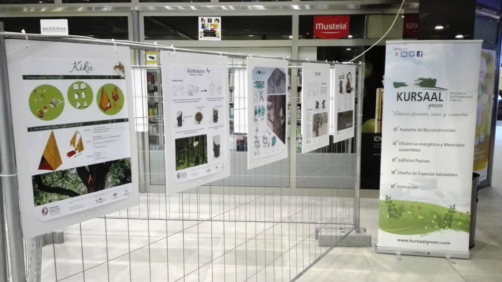 imagen de entrada del blog: Nuestra exposición TXORIAK 2.0 en Irún.