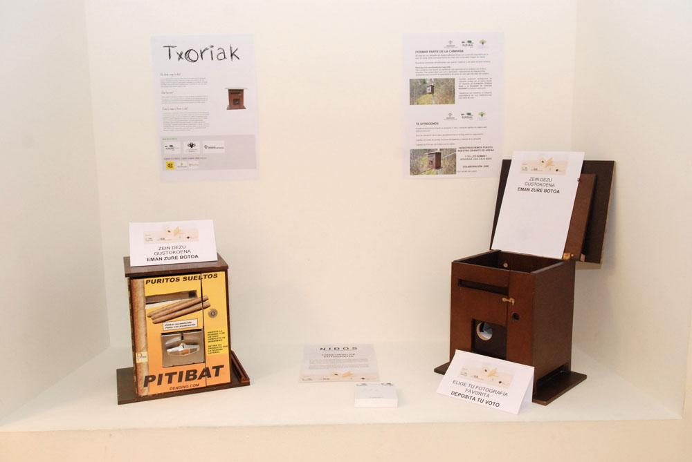 blog berriaren irudia: Nuestras cajas nido presentes en la Semana de la Bioconstrucción